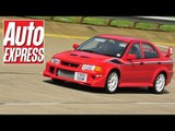 Mitsubishi Evo 6 Tommi Makinen Edition on the Grand Tour 2014