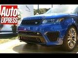 Range Rover Sport SVR - the fastest Range Rover ever
