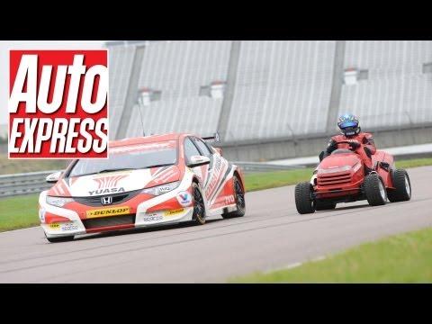 Honda Mean Mower vs BTCC Honda Civic