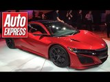 The new Honda (Acura) NSX is finally here