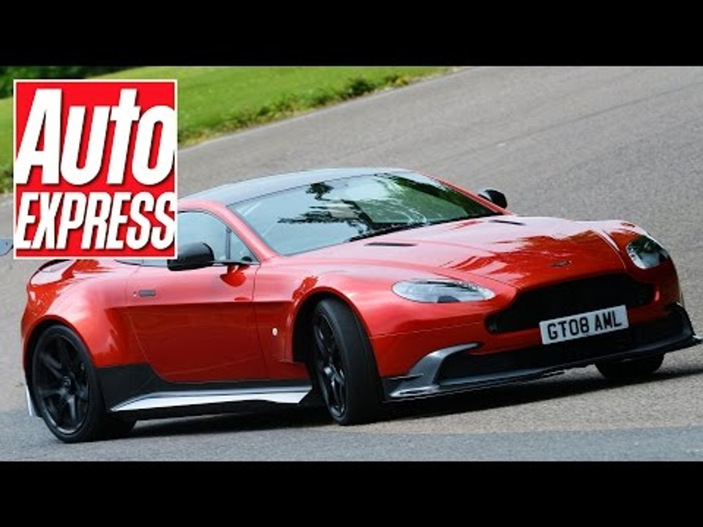 Aston Martin Vantage Gt8 Review The Best Aston To Drive Ever Video Dailymotion