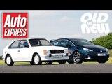 Vauxhall Astra GTE v Vauxhall Astra VXR - Old vs new drag race challenge