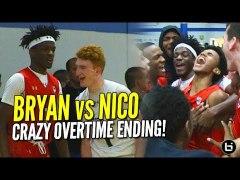 Nico Mannion vs Bryan Antoine Crazy Overtime Finish UAA Indi