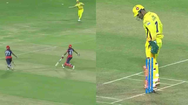 IPL 2018, CSK vs DD : MS Dhoni effects Slowest Run out in the history of IPL | वनइंडिया हिंदी