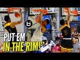 """PUT EM IN THE RIM!"" Greg Brown vs Ashton Hagans: Game Elite-Team Faith Highlights!"