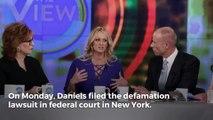 Stormy Daniels Sues President Trump for Defamation