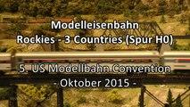 Modelleisenbahn vom Modellbauteam Köln Schauanlage in Spur H0 - Ein Video von Pennula zum Thema Modellbau und Spielzeug-Eisenbahn