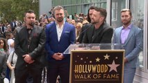 *NSYNC gets star on Hollywood Walk of Fame