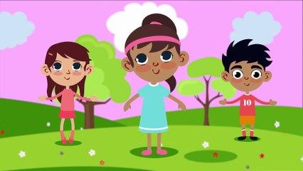Head, Shoulders, Knees & Toes   Nursery Rhymes for Children   Doo Doo Kids Songs