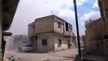 استمرار القصف الهمجي الطائفي الروسي السوري على ريف حمص الشمالي رغم اتفاق الترويكا الروسية التركية الايرانية المنافقة على خفض التصعيد وليس القصف منخفضا
