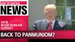 Trump suggests Panmunjom as possible venue for U.S.-North Korea Summit