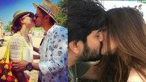 Celebs Kiss in Public   जब Public Place में सरेआम kiss करते Camera में कैद हुए ये Couples  Boldsky