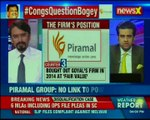 Congress 9 questions Bogey backfires; Firm Piramal Group rejects any links to Power Ministry