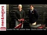 Scooter File: NEC scooter show - Electric Scooter Test