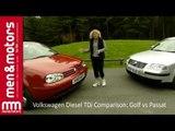 Volkswagen Diesel TDi Comparison: Golf vs Passat