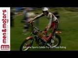 Extreme Sports Celebs Try Out Trials Riding