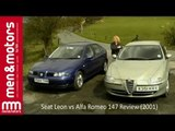 Seat Leon vs Alfa Romeo 147 Review (2001)