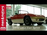 Restored 1972 Lotus Elan Sprint