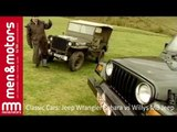 Classic Cars: Jeep Wrangler Sahara vs Willys MB Jeep
