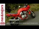 600cc Bikes Test: Suzuki Bandit, Yamaha Fazer & Honda Hornet