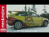 Winter Rally Driving
