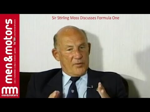 Sir Stirling Moss Discusses Formula One