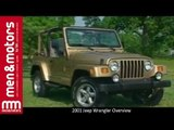 2001 Jeep Wrangler Overview