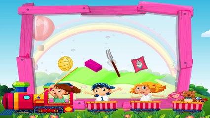 Игровая Площадка - Развивающий мультик для детей о предметах