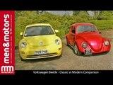 Volkswagen Beetle - Classic vs Modern Comparison