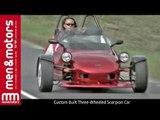 Custom Built Three-Wheeled Scorpion Car