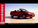 1997 Peugeot 306 Cabriolet - Best Cabriolet Of The Year Winner
