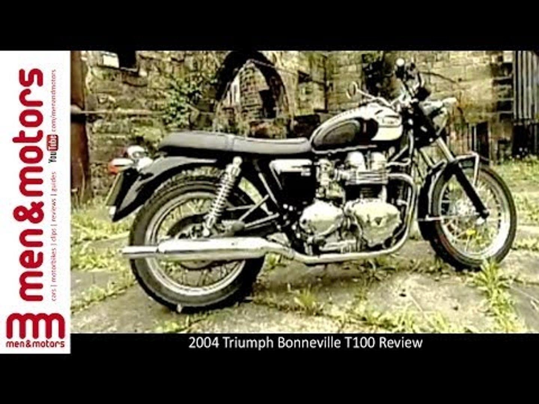 2004 Triumph Bonneville T100 Review