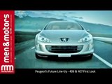 Peugeot's Future Line-Up - 406 & 407 First Look
