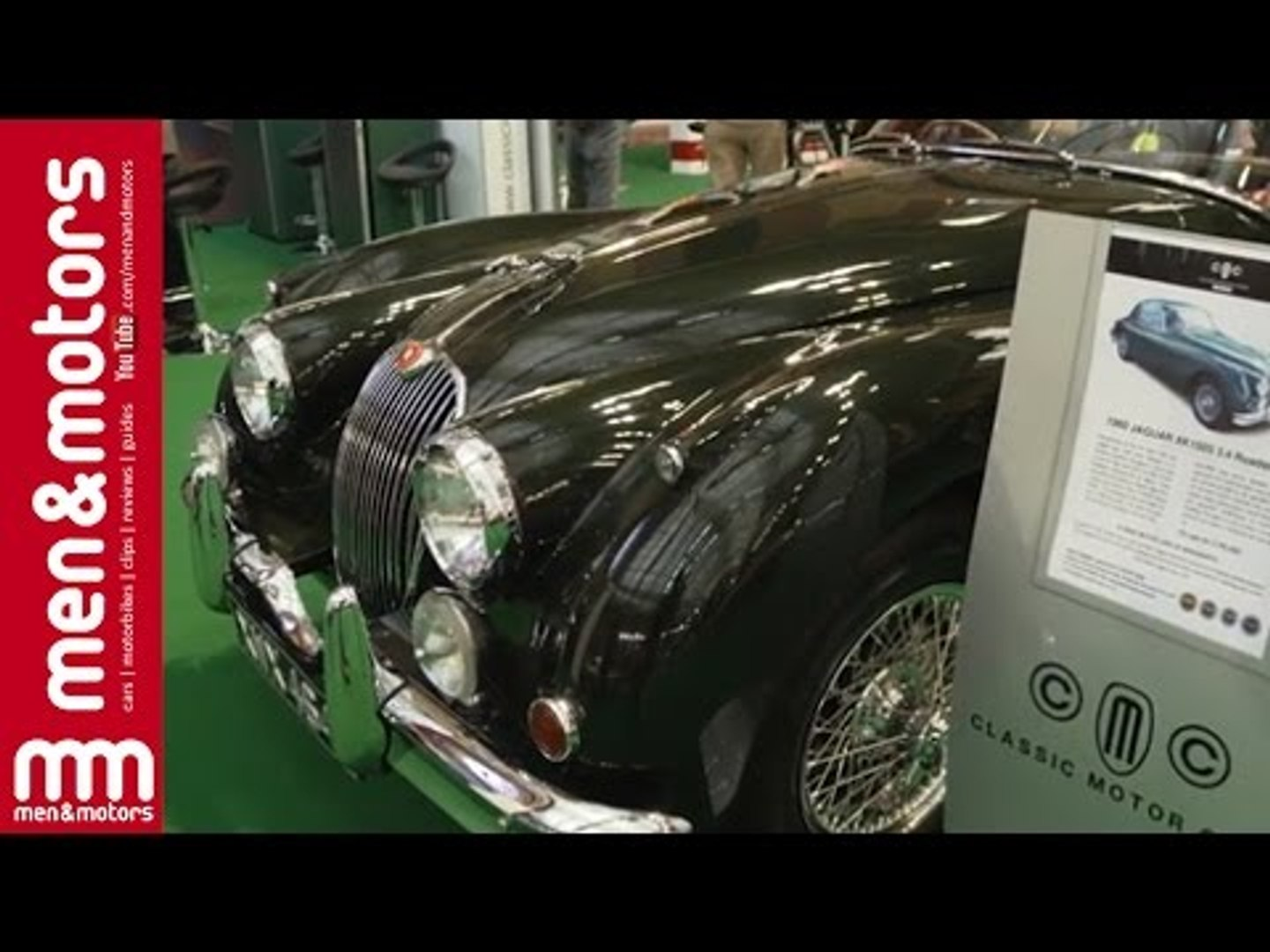 Jaguar XK150S 3.4 Roadster | Classic & Sports Car Show 2015