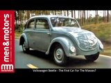 Volkswagen Beetle - The First Car For The Masses?