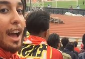 Iranian Woman Applies Fake Beard to Attend Soccer Match Where Women Are Forbidden