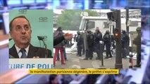 """Violences dans la manifestation du #1erMai à Paris : les services de police vont exploiter les images et """"les traces qui ont pu être laissées sur des projectiles"""" et sur des """"vêtements abandonnés"""", explique le préfet de police de Paris"""