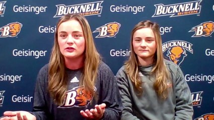 Bucknell's DeWitt twins interned together at MLB last summer