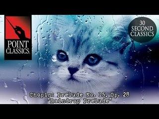 "Chopin: Prelude No. 15, Op. 28 ""Raindrop Prelude"""