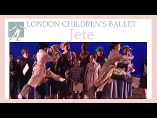 Jete demo | LCB: Ballet Shoes 2001