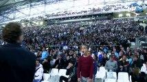 Tension, peur et folie pure à la fan zone du Vélodrome