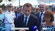 Nouvelle-Calédonie : visite d'Emmanuel Macron dans la province du Nord
