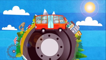 The Wheels on The Bus  Songs for Kids and Babies - Nursery Rhymes Videos