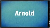 Significado Nombre ARNOLD - ARNOLD Name Meaning