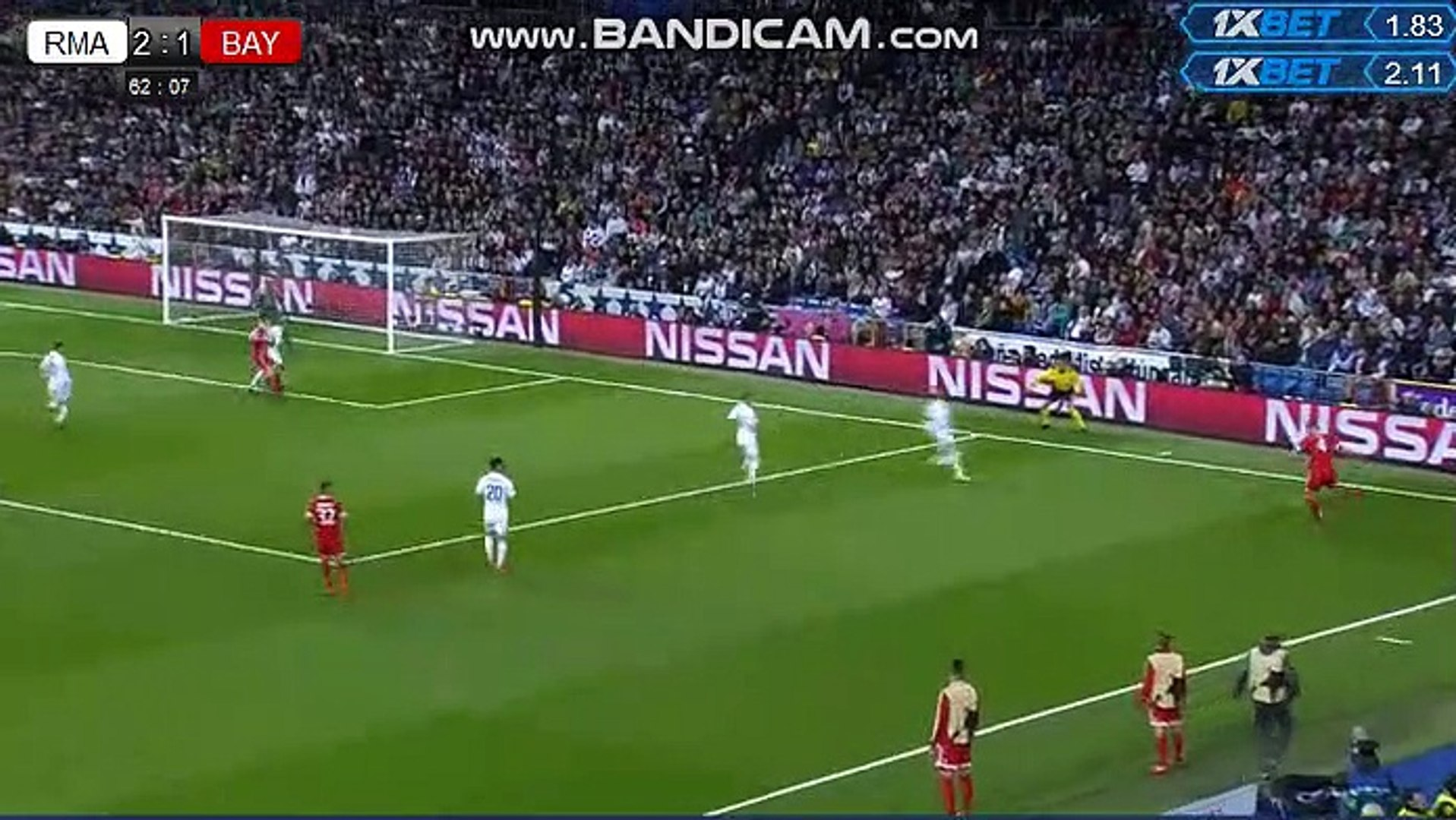All goals Real Madrid 2-2 Bayern Munich James Rodriguez Goal