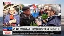 """EN DIRECT - 1er mai : 20.000 personnes ont défilé dans le cortège à Paris, 14.500 hors cortège dont 1.200 """"Black Blocs"""" (Préfecture) - Plusieurs magasins détruits par des centaines de casseurs"""