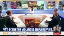 Défilé du 1er-Mai: 1 200 black blocs provoquent des scènes de violences en plein Paris (1/2)