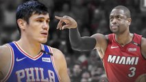 Dwyane Wade HITS BACK At 76ers' Ersan Ilyasova For Comments Against Miami Heat Fans