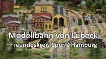 Modellbahn Spur Z von Lübeck auf der Messe Intermodellbau Dortmund 2016 - Ein Video von Pennula zum Thema Modellbau und Spielzeug-Eisenbahn