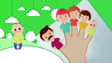 Tum Pam Pam - Finger Family Song for Kids & Nursery Rhymes - KidsMegaSongs
